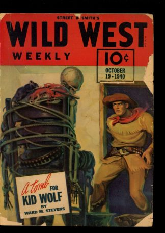 Wild West Weekly - 10/19/40 - Condition: G - Street & Smith