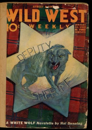 Wild West Weekly - 01/14/39 - Condition: FA - Street & Smith