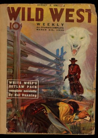 Wild West Weekly - 03/04/39 - Condition: FA - Street & Smith