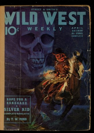 Wild West Weekly - 04/01/39 - Condition: FA - Street & Smith