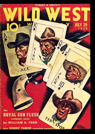 Wild West Weekly - 07/29/39 - Condition: G - Street & Smith