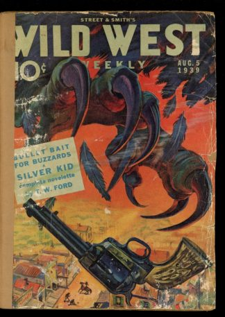 Wild West Weekly - 08/05/39 - Condition: FA - Street & Smith