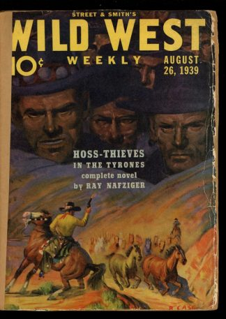 Wild West Weekly - 08/26/39 - Condition: FA - Street & Smith