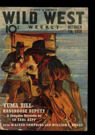 Wild West Weekly - 10/07/39 - Condition: VG - Street & Smith