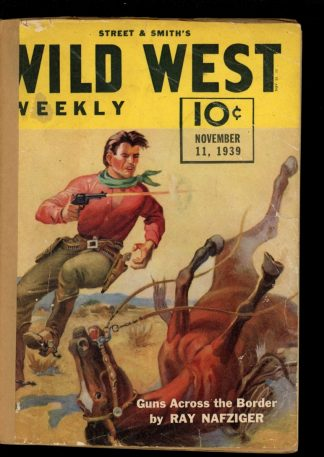 Wild West Weekly - 11/11/39 - Condition: FA - Street & Smith
