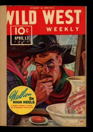 Wild West Weekly - 04/13/40 - Condition: FA - Street & Smith