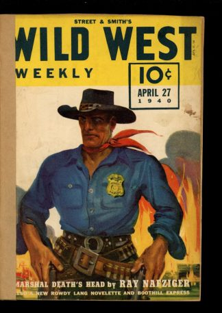 Wild West Weekly - 04/27/40 - Condition: FA - Street & Smith