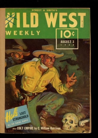 Wild West Weekly - 08/03/40 - Condition: FA - Street & Smith