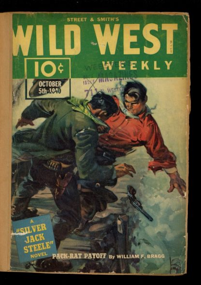 Wild West Weekly - 10/05/40 - Condition: FA - Street & Smith