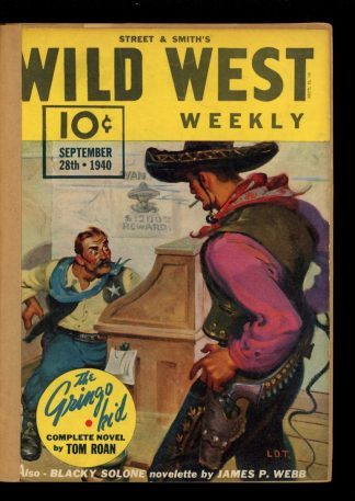 Wild West Weekly - 09/28/40 - Condition: FA - Street & Smith
