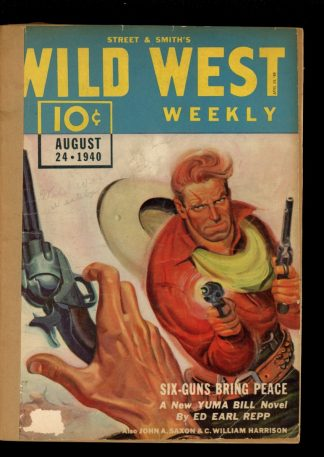 Wild West Weekly - 08/24/40 - Condition: FA - Street & Smith