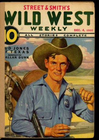 Wild West Weekly - 12/04/37 - Condition: FA - Street & Smith