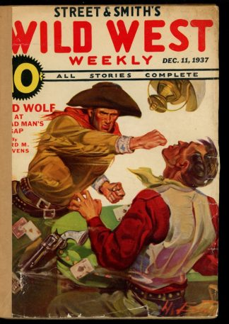 Wild West Weekly - 12/11/37 - Condition: FA - Street & Smith