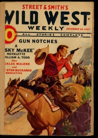 Wild West Weekly - 12/18/37 - Condition: FA - Street & Smith