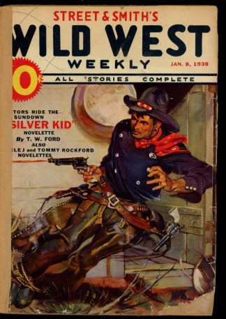Wild West Weekly - 01/08/38 - Condition: FA - Street & Smith