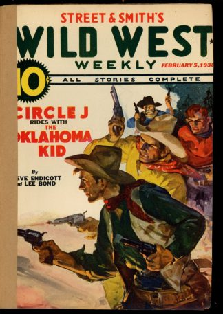 Wild West Weekly - 02/05/38 - Condition: FA - Street & Smith