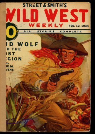 Wild West Weekly - 02/12/38 - Condition: FA - Street & Smith