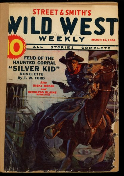Wild West Weekly - 03/12/38 - Condition: FA - Street & Smith