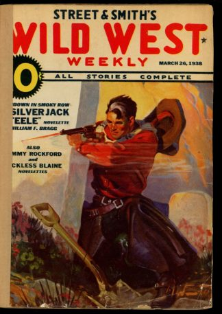 Wild West Weekly - 03/26/38 - Condition: FA - Street & Smith