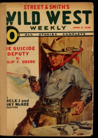 Wild West Weekly - 04/09/38 - Condition: FA - Street & Smith