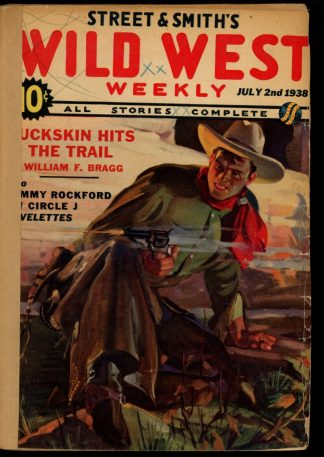 Wild West Weekly - 07/02/38 - Condition: FA - Street & Smith