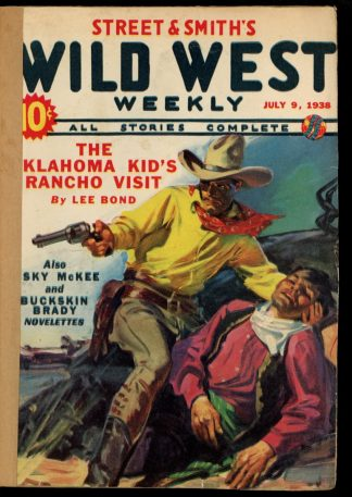 Wild West Weekly - 07/09/38 - Condition: FA - Street & Smith