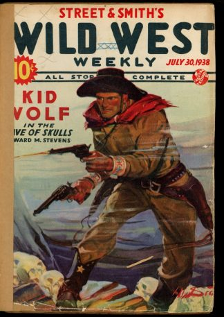 Wild West Weekly - 07/30/38 - Condition: FA - Street & Smith