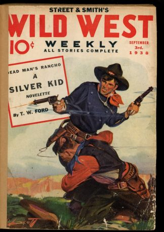 Wild West Weekly - 09/03/38 - Condition: FA - Street & Smith