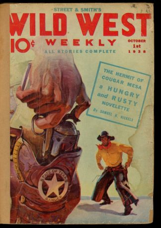 Wild West Weekly - 10/01/38 - Condition: FA - Street & Smith