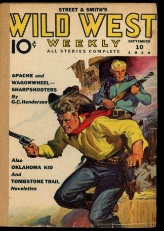 Wild West Weekly - 09/10/38 - Condition: FA - Street & Smith