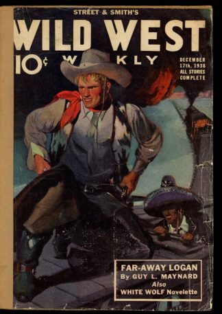 Wild West Weekly - 12/17/38 - Condition: FA - Street & Smith