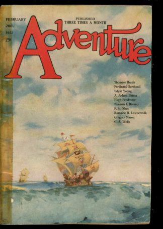 Adventure - 02/28/22 - Condition: FA-G - Ridgway