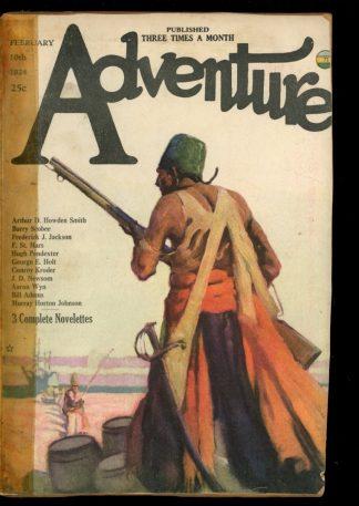 Adventure - 02/10/24 - Condition: FA-G - Ridgway