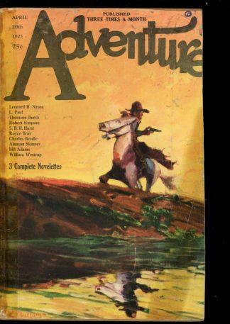 Adventure - 04/20/25 - Condition: FA-G - Ridgway