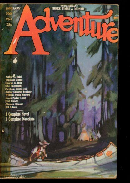 Adventure - 01/30/25 - Condition: FA-G - Ridgway