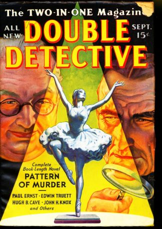 Double Detective - 09/38 - Condition: VG - Frank A. Munsey Co.