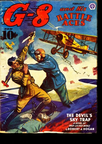G-8 And His Battle Aces - 02/44 - Condition: FN - Popular Publications, Inc.
