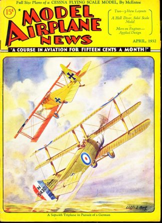 Model Airplane News - 04/32 - Condition: G - Gray Band Publishing Corp.