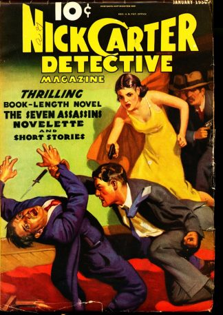 Nick Carter Detective Magazine - 01/36 - Condition: VG-FN - Street & Smith Publications