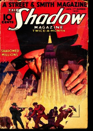 Shadow Magazine - 01/01/33 - Condition: G-VG - Street & Smith Publications