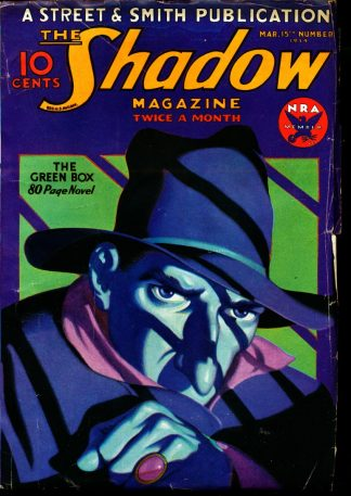 Shadow Magazine - 03/15/34 - Condition: VG - Street & Smith Publications