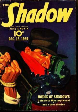 Shadow Magazine - 12/15/39 - Condition: VG-FN - Street & Smith Publications