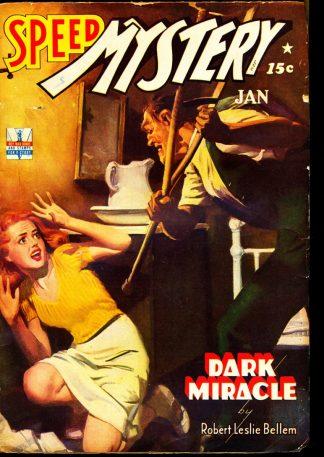 Speed Mystery - 01/43 - Condition: FN - Trojan Magazines, Inc.