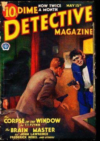 Dime Detective Magazine - 05/15/33 - Condition: G-VG - Popular Publications, Inc.