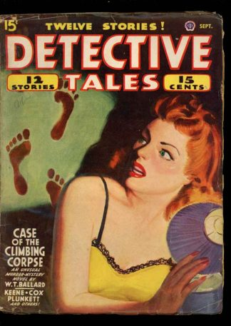 Detective Tales - 09/45 - Condition: VG - Popular