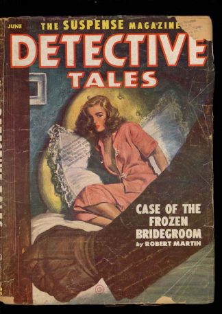 Detective Tales - 06/52 - Condition: G-VG - Popular