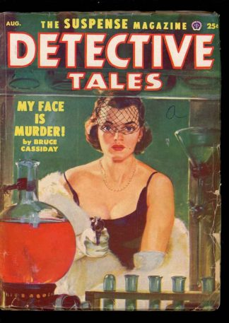 Detective Tales - 08/52 - Condition: VG - Popular