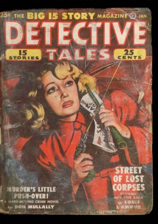 Detective Tales - 01/50 - Condition: G - Popular