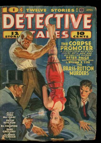 Detective Tales - 04/40 - Condition: G-VG - Popular