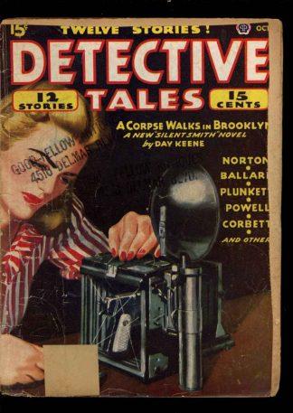 Detective Tales - 10/45 - Condition: FA - Popular